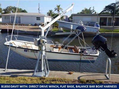 1850 lb seawall mount