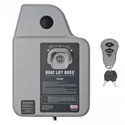 Boat Lift Boss 120V Wireless Remote Motor with Remote