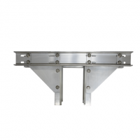 Marine Pile Mount Double Boat Lift Bracket