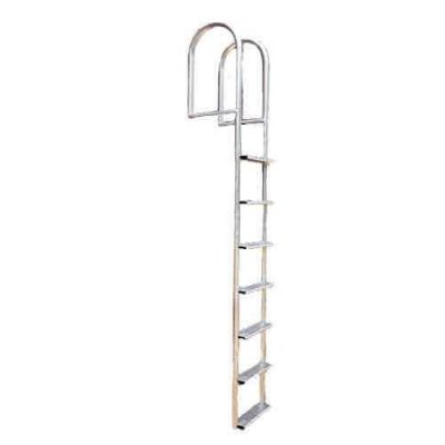 Wide Step Stationary Dock Ladder Non-Boxed Option