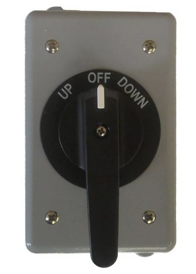 Bremas Drum Switch with black handle