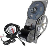 3,500 lb. Flat Plate Boat Lift Hoist 110v with Bremas maintain switch