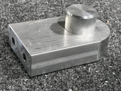 Cargo Lift Hinge Block with Pin