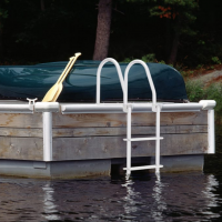 Howell-Galvalume-Flip-Up-Dock-Ladder-