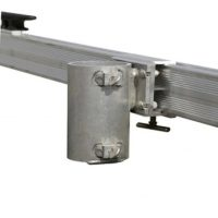 Flagpole holder for Polydock system