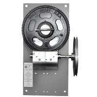 6500-Painted-Gear-Plate-Assembly-Powder-Coated
